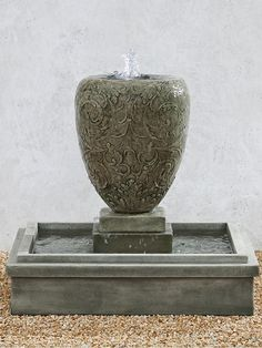 Free Shipping and No Sales Tax on the Longwood Arabesque Garden Water Fountain from the Outdoor Fountain Pros.