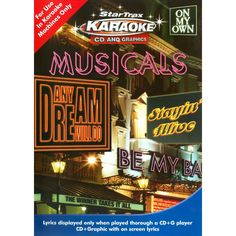 Star Trax Karaoke: Musicals