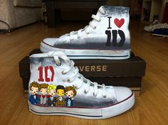 One Direction - Painted Shoes
