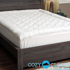 CozyClouds by DownLinens Billowy Clouds Mattress Pad | Overstock™ Shopping - Great Deals on Mattress Pads