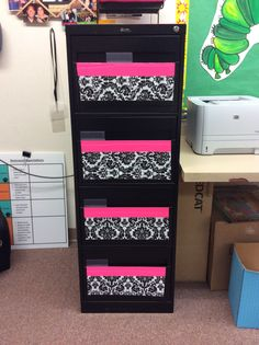 Duck Tape File Cabinet Make Over:) | Teachers Only | Pinterest ...
