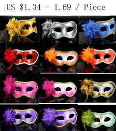 Wholesale Leather Mask - Buy New Exquisite Lace Rhinestone Leather Mask Masquerade Lily Flower Princess Mask For Lady Purple Red Black Gold Pink Silver White More Colors, $1.76 | DHgate