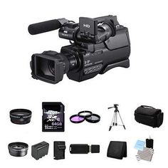 Sony HXR-MC2000U Shoulder Mount AVCHD Camcorder 64GB Package. Deal Price: $1486.40. List Price: $2249.00. Visit http://dealtodeals.com/sony-hxr-mc2000u-shoulder-mount-avchd-camcorder-64gb-package/d16749/camera-photo/c45/