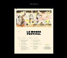 Théâtre des Bouffes du Nord 16-17 on Behance