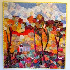 nifty quilts: collage quilt by Freddy Moran
