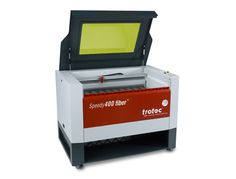 Speedy 400 Fiber Laser Marking System. #TrotecLaser