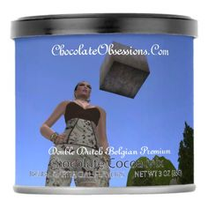 Chocolate Obsessions Double Dutch Belgian Premium Hot Chocolate Drink Mix - decor diy cyo customize home
