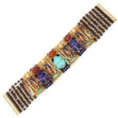 amazing scarab bracelet