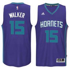 Kemba Walker Charlotte Hornets adidas Road Player Swingman Jersey - Purple d0c1f804e