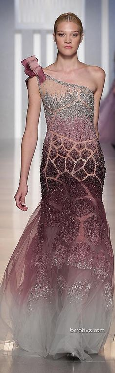 Tony Ward -Fall Winter 2013  Would look better without that bow on the shoulder!  ....just sayin'