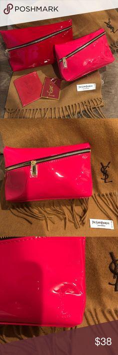 38a3a7fc950 Authentic NWOT Yves Saint Laurent YSL Makeup Bag Authentic NWOT Yves Saint  Laurent YSL Makeup Bag