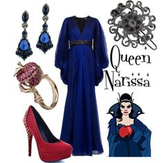 """Queen Narissa"" by alsni on Polyvore"