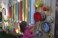 5 incroyables murs musicaux réalisés avec des objets récupérés de la maison!