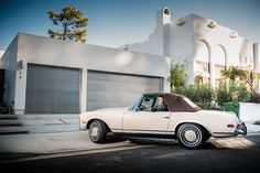 Mercedes-Benz 280 SL. Photo by Royce Rumsey.