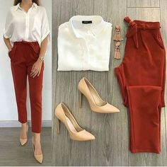 Casual Work Outfits, Business Casual Outfits, Professional Outfits, Mode Outfits, Classy Outfits, Stylish Outfits, Fall Outfits, Fashion Outfits, Womens Fashion