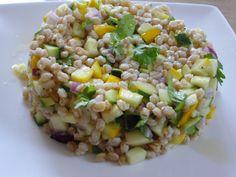 Salade de petit épeautre de Haute-Provence - Découvrez la recette sur http://www.savourez-la-provence.fr/blog/salade-de-petit-epeautre-de-haute-provence/