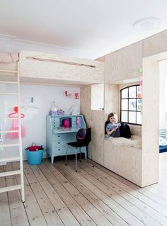 self made plywood furniture in children rooms                                                                                                                                                                                 More