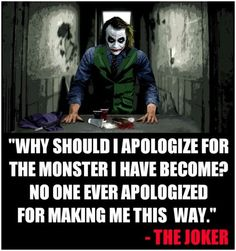 I'm not monster...but I agree with fact