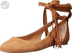 Sigerson Morrison Women's Elami Ballet Flat, Camel, 6.5 M US - All about women (*Amazon Partner-Link)
