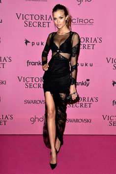 Josephine Skriver - Victoria's Secret Fashion Show 2014 red carpet pictures | Harper's Bazaar