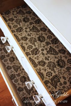 StoneGable: MAKING SCENTED DRAWER LINER