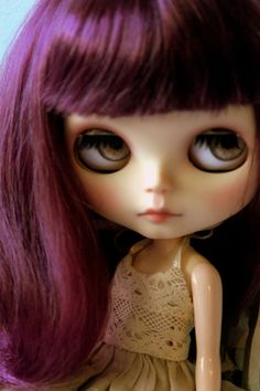 Damson  OOAK Custom Blythe Art Collector Doll by BlytheDollBakery, £270.00