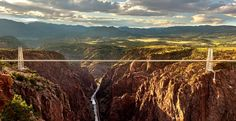 One of the world's highest suspension bridges. 360° of jaw-dropping rides. Miles of eye-popping natural Colorado beauty.