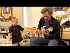 Conan Writes Chicago Blues Songs With School Kids... this is so cute and totally cracked me up!