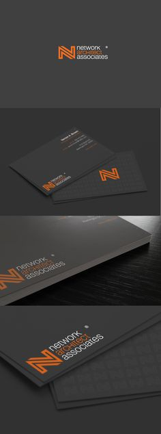 Network Architect Associates | #stationary #corporate #design #corporatedesign #identity #branding #marketing < repinned by www.BlickeDeeler.de | Take a look at www.LogoGestaltung-Hamburg.de