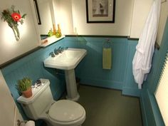 How to Install Bead Board in a Bathroom : How-To : DIY Network
