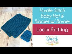 Hurdle Stitch Scarf on Round or Straight Loom – Loom Knitted – Awesome Knitting Ideas and Newest Knitting Models Loom Knitting Blanket, Giant Knitting, Baby Knitting, Loom Scarf, Knitting Looms, Loom Blanket, Knitting Machine, Blanket Scarf, Loom Knitting Projects