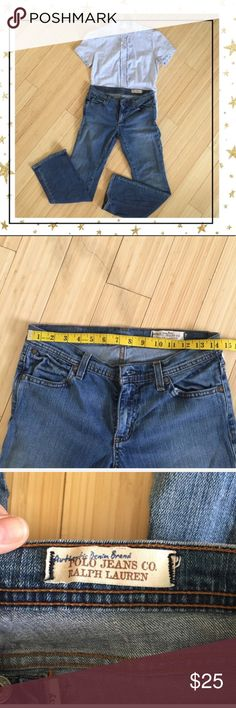 Polo Ralph Lauren High waist mom jeans (HU23VB5C) Great quality, good condition Polo by Ralph Lauren Jeans Straight Leg