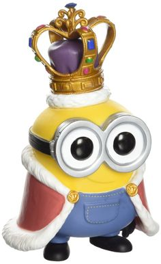 These minions are on a mission! now you can bring them home! it's the minion king from the new minions movie! standing 3 3/4 inches, this adorable yellow creature is too cute to resist! collect them a