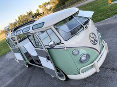 Volkswagen Bus Discover Volkswagen Type 2 for Sale Vintage Volkswagen Bus, Volkswagen Bus Interior, Volkswagen Bus Camper, T3 Vw, Volkswagen Type 2, Vw Vintage, Volkswagen Polo, Volkswagen Transporter, Vw Camper Vans