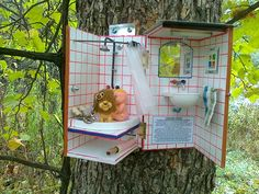 I sure hope this is a travel bug hotel or opening it could be awkward. Lol