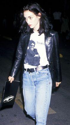 Winona ryder fashion grunge, and fashion, fashion trends, punk 1990s Fashion Trends, Fashion Guys, Nineties Fashion, 80s And 90s Fashion, 90s Fashion Grunge, 1990s Grunge, Fashion Edgy, Fashion 2018, Style Fashion