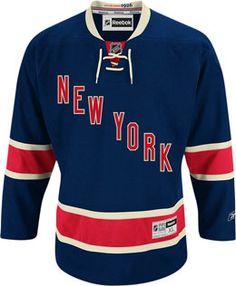 New York Rangers Official Third Reebok Premier Replica Adult NHL Hockey  Jersey CoolHockey 2d0a7c5b8
