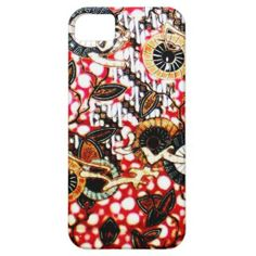 iPhone 5/5S batik pattern 83 case mate
