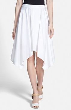Rebecca+Minkoff+'Jackie'+Asymmetrical+Skirt+available+at+#Nordstrom