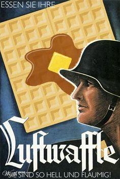 Eat your waffle!
