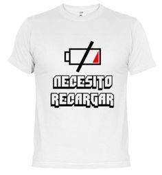 Camiseta Necesito recargar