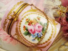 Porcelain Hand Painted Box