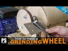 This time I will make a grinding wheel for the lathe so that I can sharpen all my tools, such as woodturning chisels and other kinds of chisels. More info an...