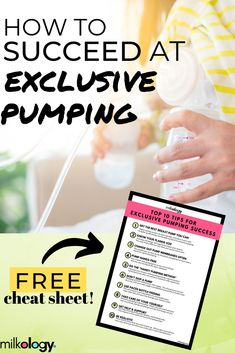 Pumping isn't easy and not everyone takes to it - and that's okay! But if you want to increase your chances of success, grab this free set of 10 tips to increase your chances of successfully adapting to pumping without the stress! Hands Free Pumping, Pumping At Work, Newborn Nursing, Pumping Schedule, Exclusively Pumping, Breastfeeding And Pumping, Bottle Feeding, Working Moms, Stress