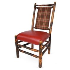 Check out this item at One Kings Lane! Tall Pines Dining Chair/Plaid