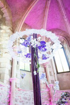 Centre de table mariage Actuel Flors Torcy http://www.actuelflors.com/