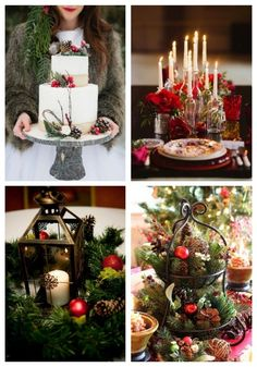 80 Beautiful Christmas Wedding Ideas I love Christmas! It's such a wonderful family holiday when we all gather and share our warmth and love with each other. I think it's perfect time for a wedding Christmas Wedding Decorations, Christmas Themes, Christmas Fun, Wedding Table Settings, Wedding Events, Wedding Halls, Weddings, Wedding Tips, Trendy Wedding