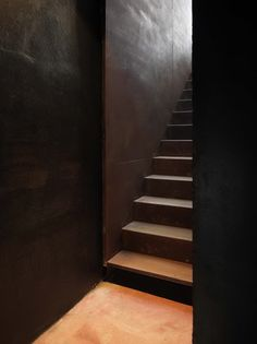 Corten staircase. C+S Associati | Photography Pietro Savorelli