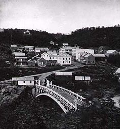 Taylors Falls, mn history | view of taylors falls minnesota 1869 . It's like nothing's changed