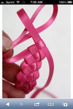 A ribbon braid !